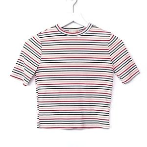 Gianni Bini Striped Tee   EUC